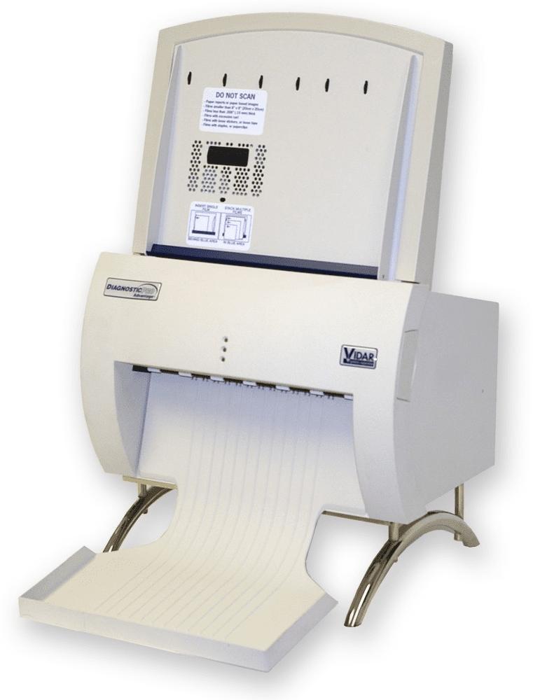 Vidar scanning film digitizer.