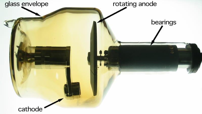 Rotating anode x-ray tube
