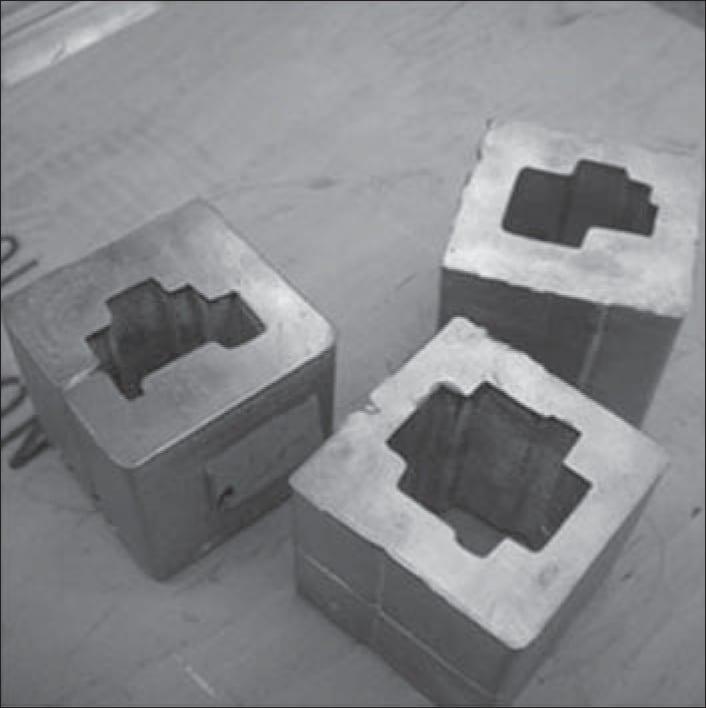 Custom blocks for photon field shaping.